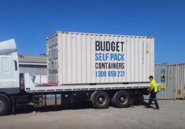 Aussie Gold Cheer and Dance use Budget Self Pack Containers as their preferred transport solution